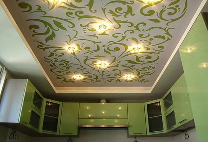 Потолок с фотопечатью СПб