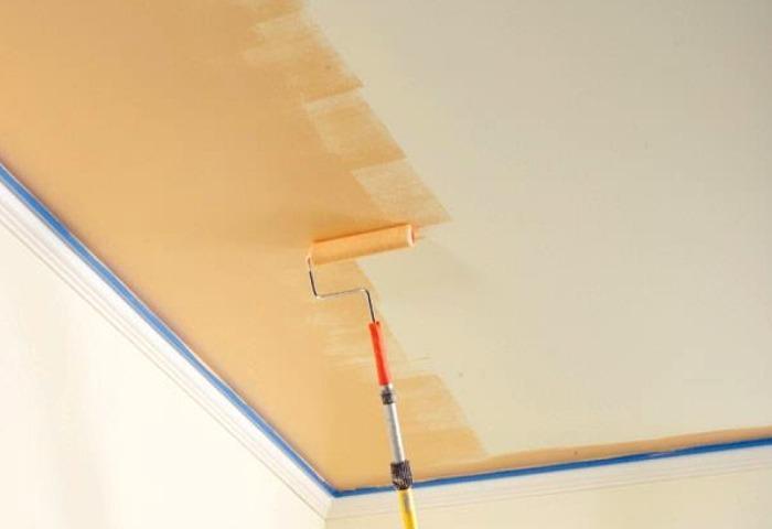 Покраска потолка СПб