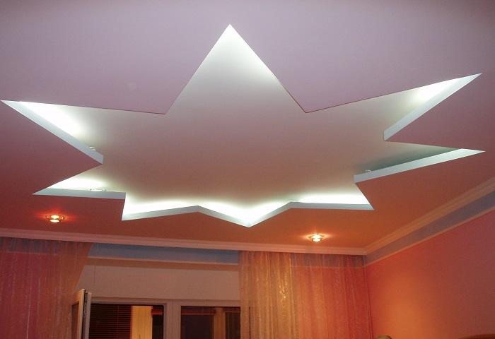 Совмещенный потолок СПб