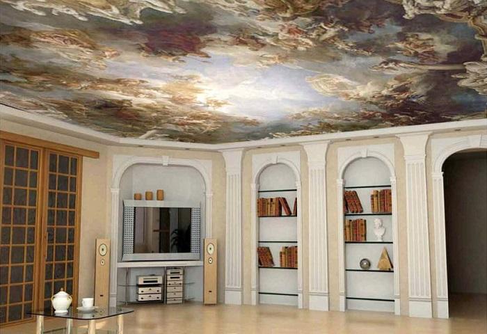Тканевый потолок СПб