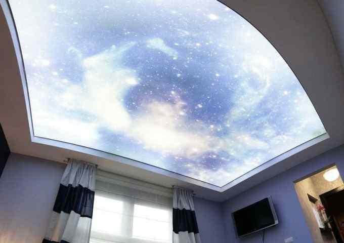 Фотопечать подвесной потолок СПб