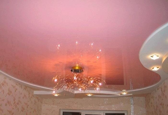 Натяжные потолки в Фрунзенском районе СПб