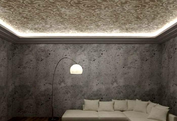 Рельефная штукатурка потолка СПб