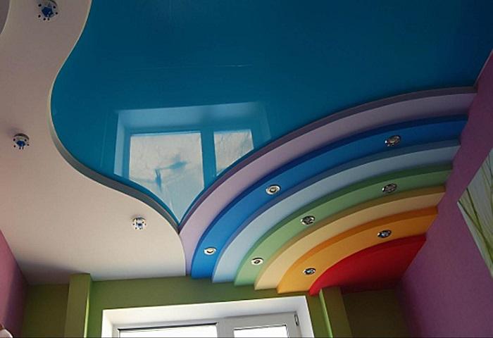Дизайн двухуровневого потолка СПб