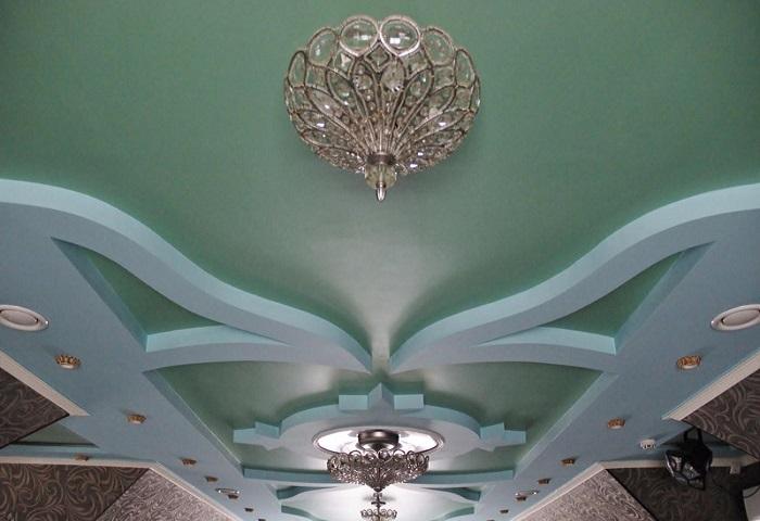Ремонт потолка в Оккервиле СПб