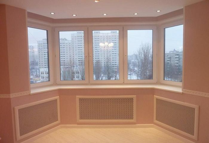 Натяжные потолки на лоджии СПб