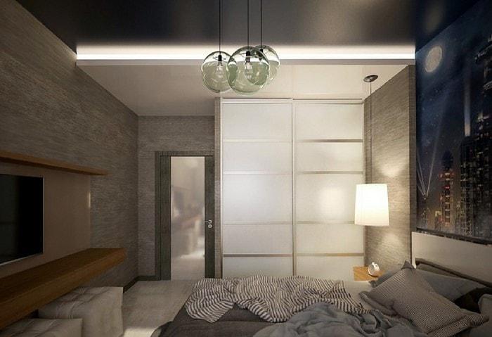 Натяжные потолки в квартире СПб
