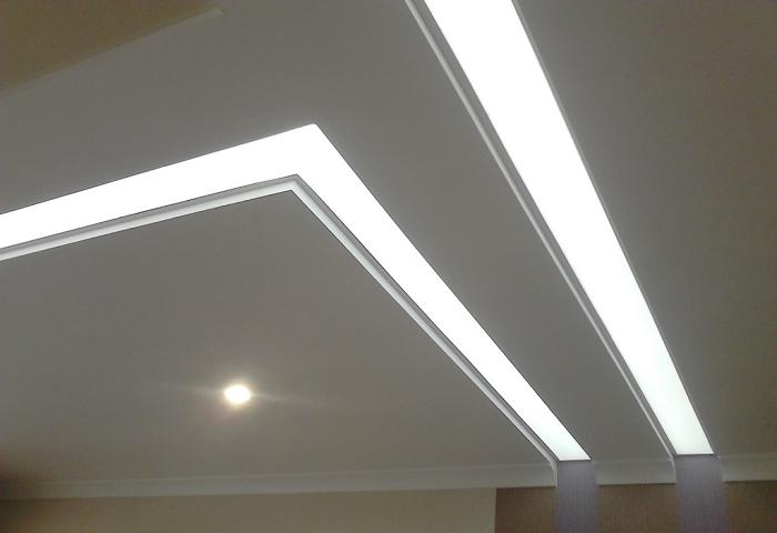 Светопропускающий натяжной потолок в СПб